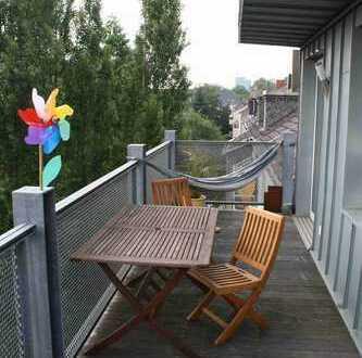 Maisonettewohnung mit Sonnnenbalkon in Neudorf