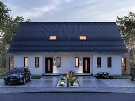 Doppelhaushälfte auf tollem, exklusivem Grundstück - auch ohne Eigenkapital.
