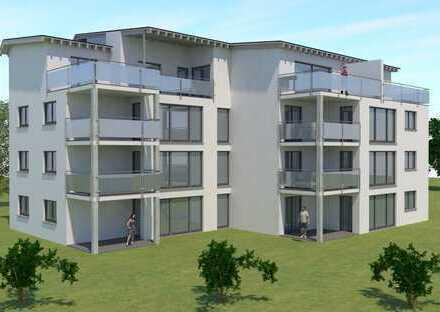 Neubau große 4 Zi. Wohnungen mit Gartenanteil und Penthouse in Dauchingen