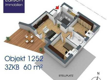 Attraktive 3-Zi-Wohnung in Reinhausen - hochwertig möbliert
