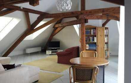 Freundliche 2-Zimmer-Loft-Wohnung mit Einbauküche in Gemmrigheim