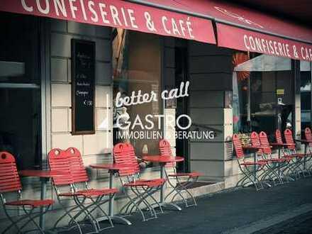 Café/Backshop vis-á-vis des Wasserturms im Kollwitz-Kiez