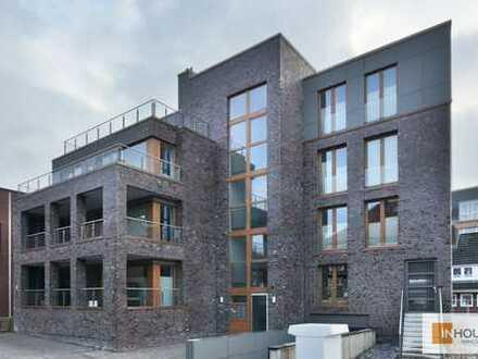 Neubau-Terrassenwohnung mit Tiefgarage und Einbauküche - im Herzen von Leer