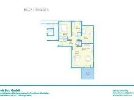 Drei Zimmer OG-Wohnung H2W4