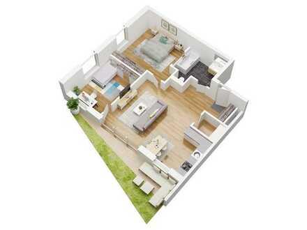 Haus Alchemie - Neubau- Gartengeschosswohnung in besonderer Wohnanlage ** Förderung durch KfW 40+**