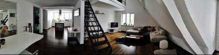 Sonnige 4-Zimmer-Maisonette-Wohnung mit Dachterrasse und EBK in Laupheim Zentrum