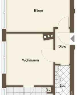 2-Zimmerwohnung direkt am Westpark
