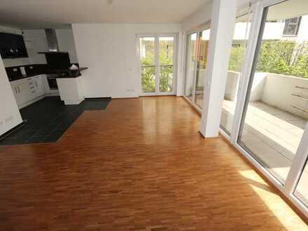 Exklusive, neuwertige 4-Zimmer-Wohnung mit Balkon in Karlsruhe Citypark