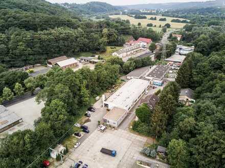 Kfz- Stellplätze im schönen Hammertal zu vermieten