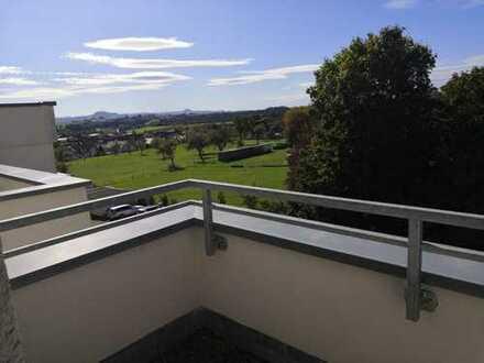 Penthouse mit Dachterrasse, tolle Aussicht auf Kaiserberge