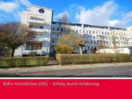 Ansprechende 2-Zimmer-Wohnung mit hohen Decken und Einbauküche in Schwachhausen
