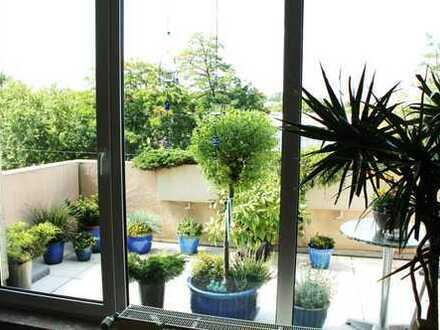 Stadtnahe, gepflegte 4-Zimmer-DG-Wohnung mit Balkon in Hattingen