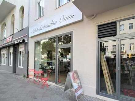 Charlottenburg: Kantstraße: Exklusive Einzelhandelsfläche in Toplage nahe Savignyplatz , ca. 98 m²