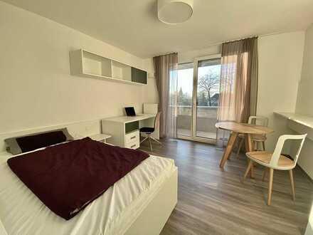 Exklusive 1-Zimmer-Wohnung mit Balkon und Einbauküche in Schwäbisch Hall