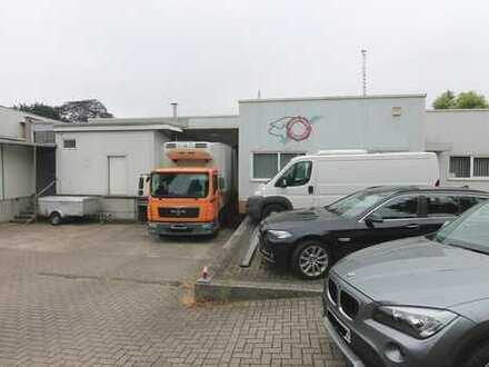Gewerbehalle für Fleischverarbeitung mit Zerlegerei und Kühlhaus