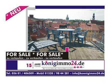großzügige DG-Wohnung mit Dachterrasse und Blick über die Stadt -- für Leute mit mehr Anspruch