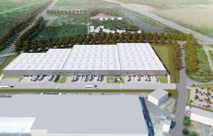 Ende 2020 - 8.000 m² bis 30.000 m² Logistikflächen - Neubau & provosionsfrei