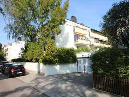 4-Zi Gartenwohnung (250m² Garten), 2 Terrassen, barrierefreier Zugang