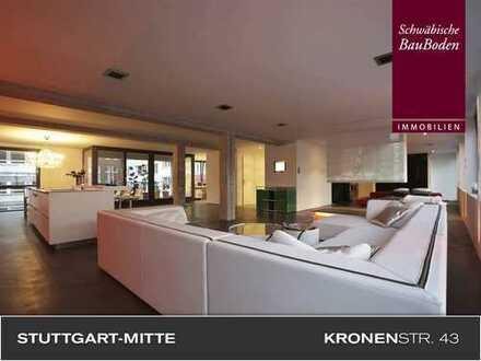 """Kronenstraße 43: """"Luxus-Single/Couple"""" gesucht … 180qm Loftetage mit großem Balkon, Garage ++++"""