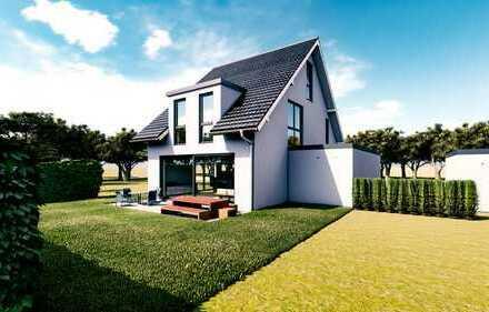 Modern individuell planbares Einfamilienhaus + Garage mit 150m² (schlüsselfertig)