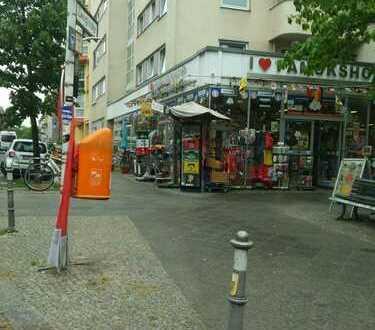 Eckladen nur 30m von der Turmstrasse - Sichere Rendite