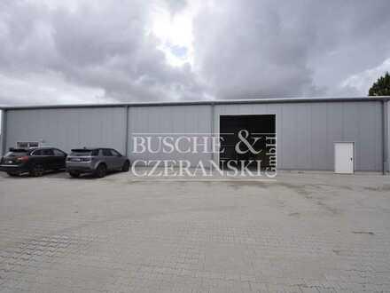 Horstmar || 703 m² Halle & Büro || moderne Bürofläche || Baujahr 2020 || inkl. weiterer Baureserve