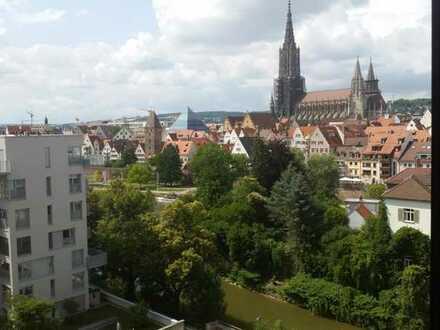 Zentrales WG-Zimmer mit 17m² | Mit Blick auf das Ulmer Münster & Donau