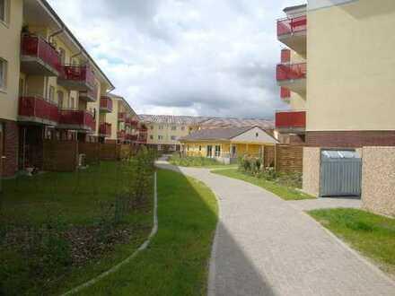 Senioren 2 Zimmer Wohnung im EG mit Garten und Terrasse mit Servicevertrag !