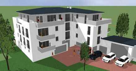 Neubau: moderne Wohnungen 2-5 Zimmer, Penthouse, Terrassen oder Balkon