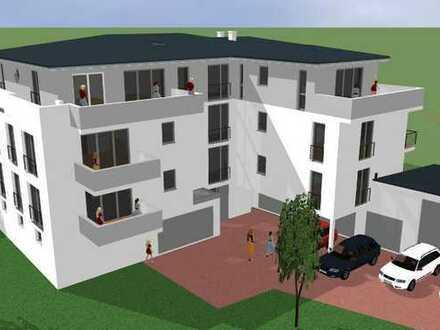 Neubau: moderne 2 Zimmer Wohnung, Terrassen oder Balkon
