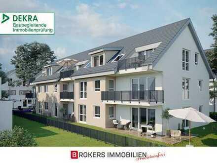 MainRodgau: Neubau 4-Zimmer-Erdgeschosswohnung mit großem Garten