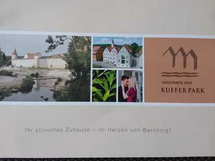Wohnen am Kufferpark in Berching: Erstbezug 2-Zimmer-Wohnung mit gehobener Innenausstattung