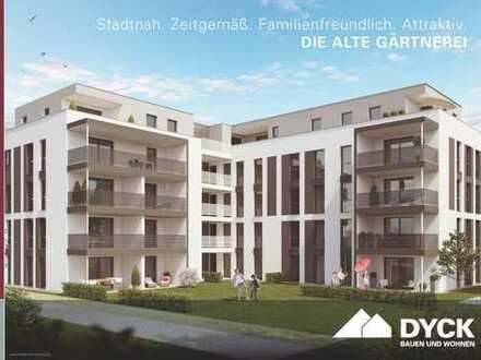 Großzügige 3-Zimmer-Wohnung mit Balkon ins Grüne