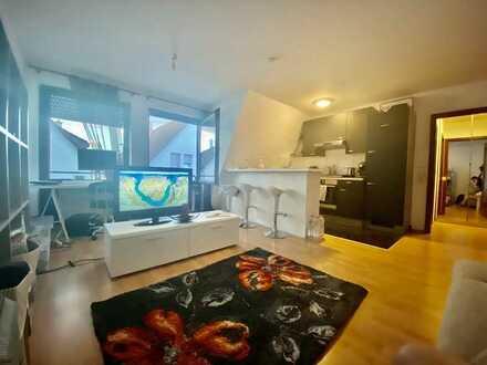 Exklusive, modernisierte 1-Zimmer-Wohnung mit Einbauküche in Stuttgart