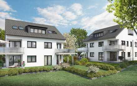 Allein ganz oben: Attraktive 3 Zimmer DG - Neubauwohnung in Stuttgart-Plieningen
