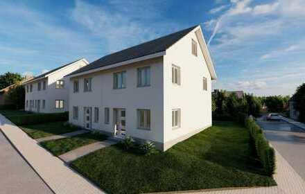 Moderne Doppelhäuser in gewachsener Lage