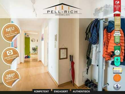 VIERKLANG: Bezugsfreie 4-Zimmer Wohnung nahe Citypark in Karlsruhe inkl. 2 Außenstellplätzen