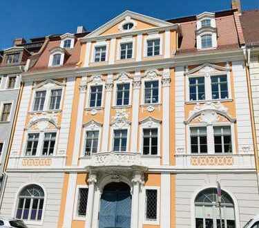 Wohnen mit Geschichte - im Napoleonhaus! Hochwertig sanierte 3-Raumwohnung mit schöner Einbauküche!