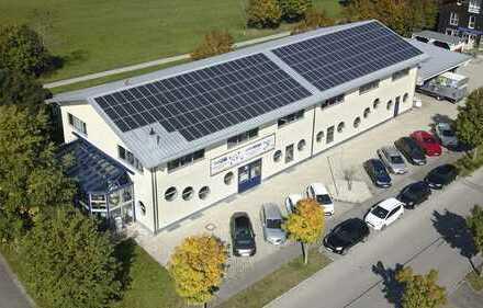 Gewerbegebiet Grafing, attraktive, moderne Halle für Büro und Produktion
