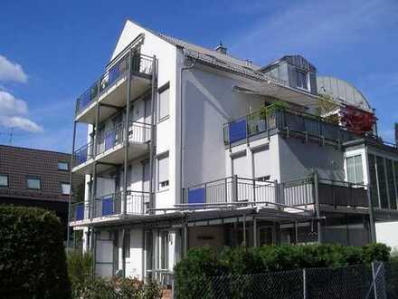 MAIER - SOFORT VERFÜGBAR ! Repräsentative 3,5-Zimmer-Penthouse-Wohnung mit Weitblick