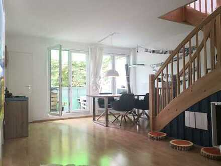 helle Nippes-Maisonette-Wohnung sucht Familie