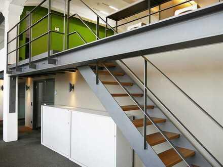 Exklusives Büro-Loft mit Galerie in historischem Industriedenkmal
