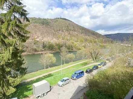 Traumhafte 3,5 ZKB Penthouse-Wohnung am Neckar