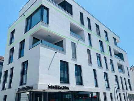 Erstbezug: exklusive 3,5-Zimmer-Wohnung mit schöner Loggia mitten in Tettnang