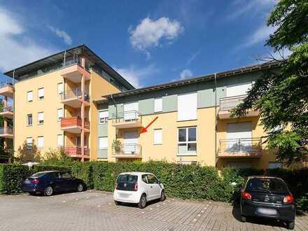 Vermietete 2-Zimmer-Wohnung mit Balkon nähe Klinikum&Westpark