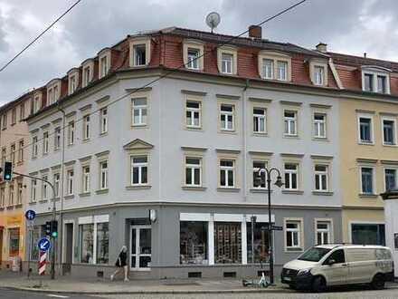 Laden / Büro / Praxis in Pieschen, direkt an Straßenbahn-Haltestelle - direkt vom Eigentümer!