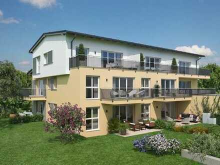 Heimkommen + wohlfühlen: moderne 3 Zi-Whg mit großer Süd-West-Dachterrasse im 1. OG