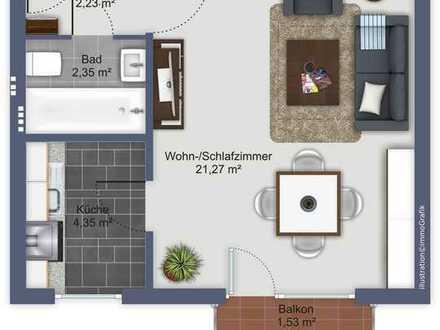 Renovierungsbedürftiges Appartement in München Pasing; ideal wenn man sich selbst helfen kann