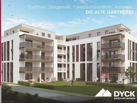 Großzügige 2-Zimmer-Wohnung mit sonnigem Balkon