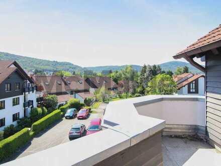 Eine Aussicht zum Verlieben: Moderne 3-Zi.-Rooftopwhg. mit großer Dachterrasse im Taunus